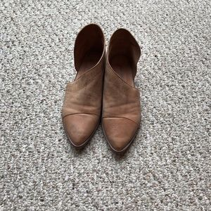 Free people flat boots sz 38